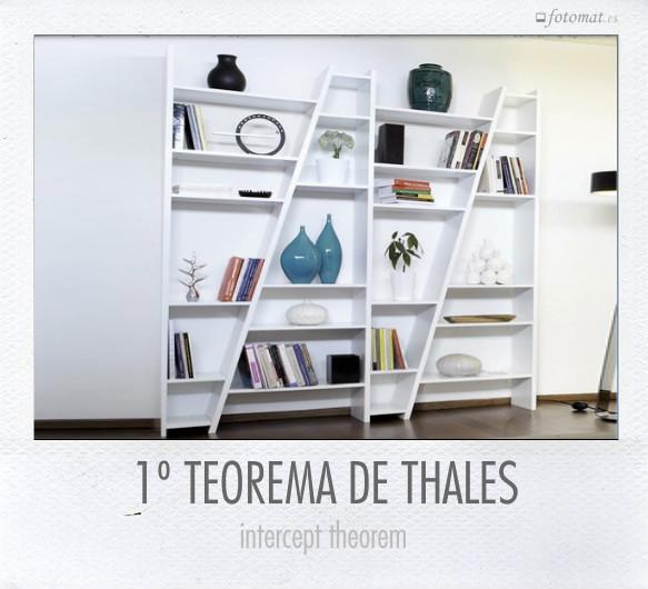 1º TEOREMA DE THALES