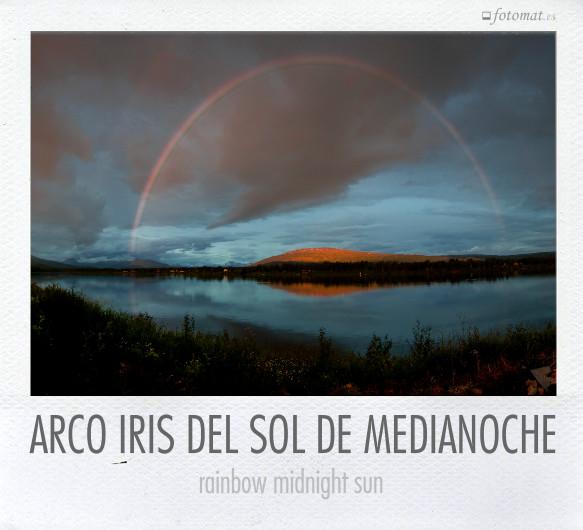 ARCO IRIS DEL SOL DE MEDIANOCHE