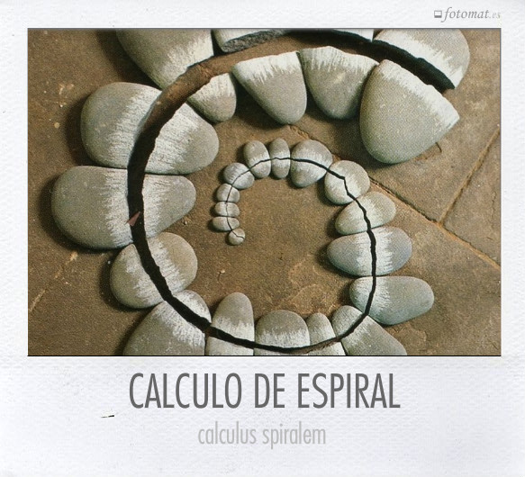 CALCULO DE ESPIRAL