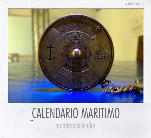 CALENDARIO MARITIMO