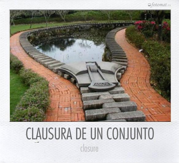 CLAUSURA DE UN CONJUNTO