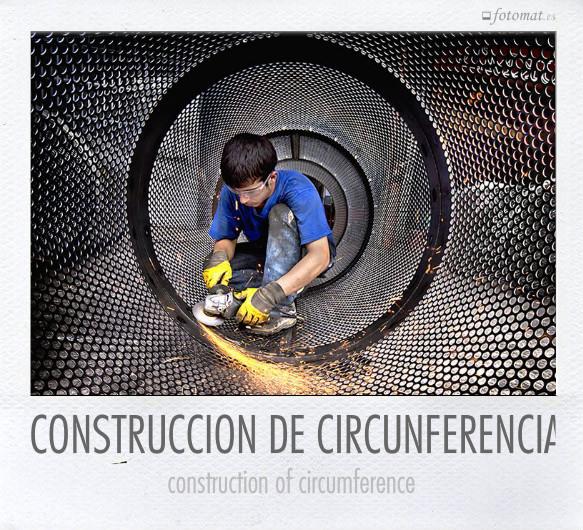 CONSTRUCCION DE CIRCUNFERENCIA