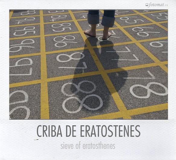 CRIBA DE ERATOSTENES