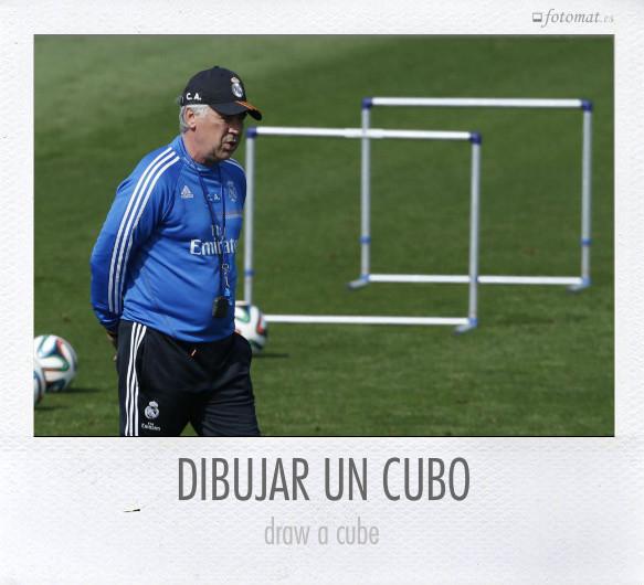 DIBUJAR UN CUBO