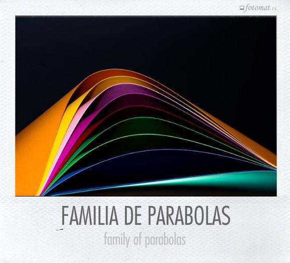 FAMILIA DE PARABOLAS