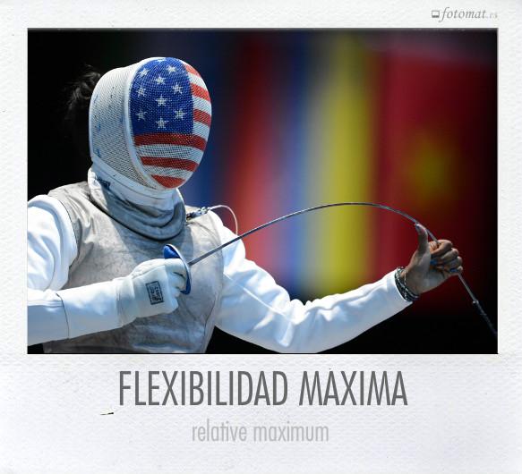 FLEXIBILIDAD MÁXIMA