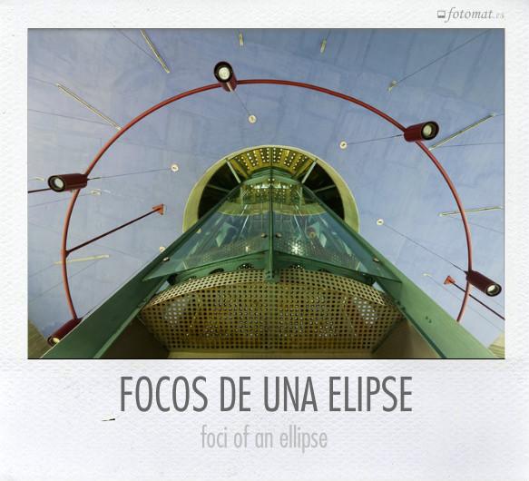 FOCOS DE UNA ELIPSE