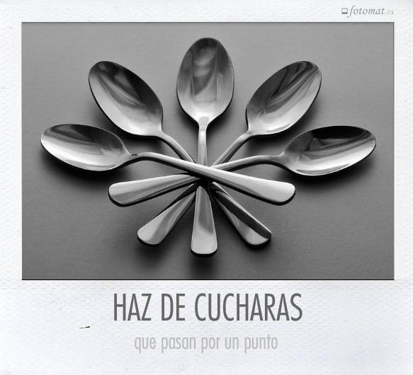 HAZ DE CUCHARAS