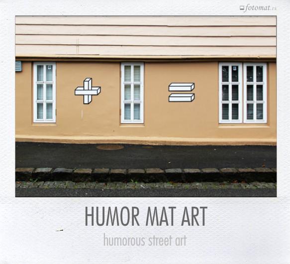HUMOR MAT ART