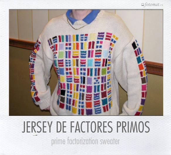 JERSEY DE FACTORES PRIMOS