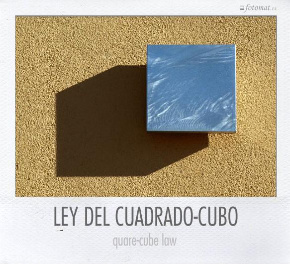 LEY DEL CUADRADO-CUBO