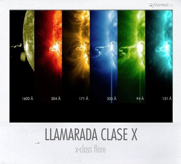 LLAMARADA CLASE X