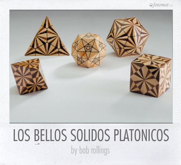 LOS BELLOS SOLIDOS PLATONICOS