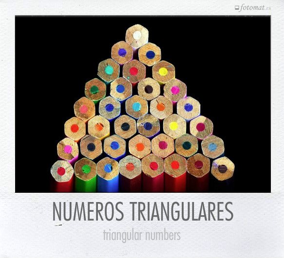 NÚMEROS TRIANGULARES