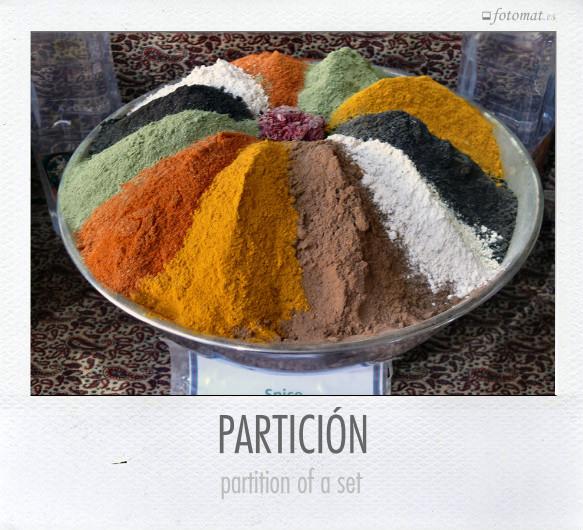 PARTICIÓN