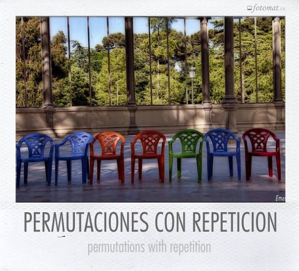 PERMUTACIONES CON REPETICION