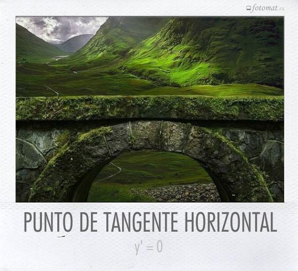 PUNTO DE TANGENTE HORIZONTAL