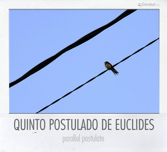 QUINTO POSTULADO DE EUCLIDES