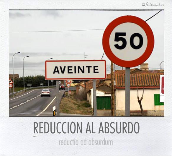 REDUCCIÓN AL ABSURDO
