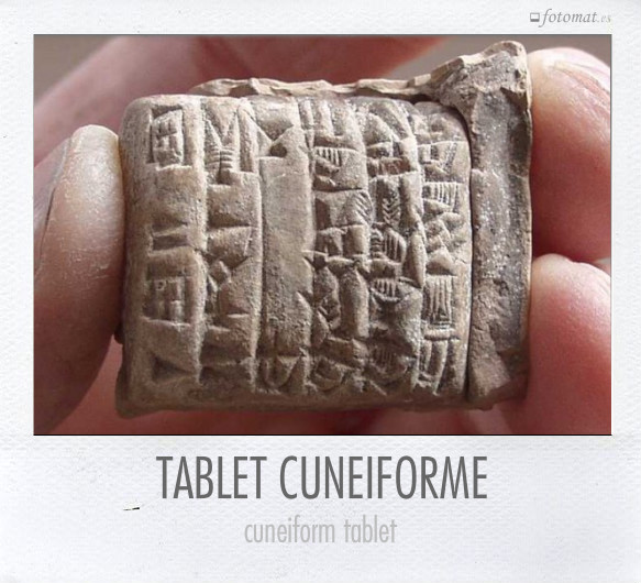 TABLET CUNEIFORME