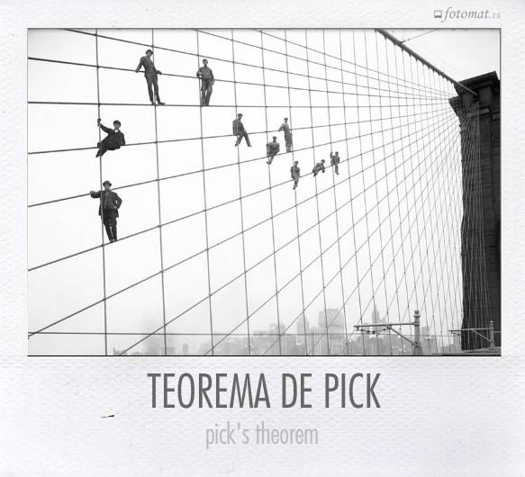 TEOREMA DE PICK