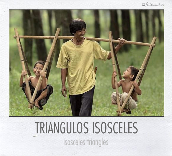 TRIANGULOS ISOSCELES