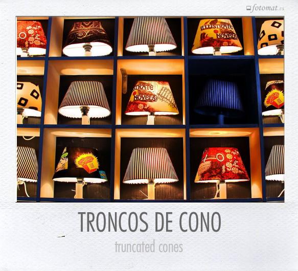 TRONCOS DE CONO