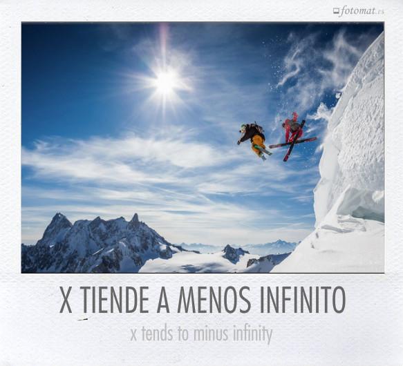 X TIENDE A MENOS INFINITO